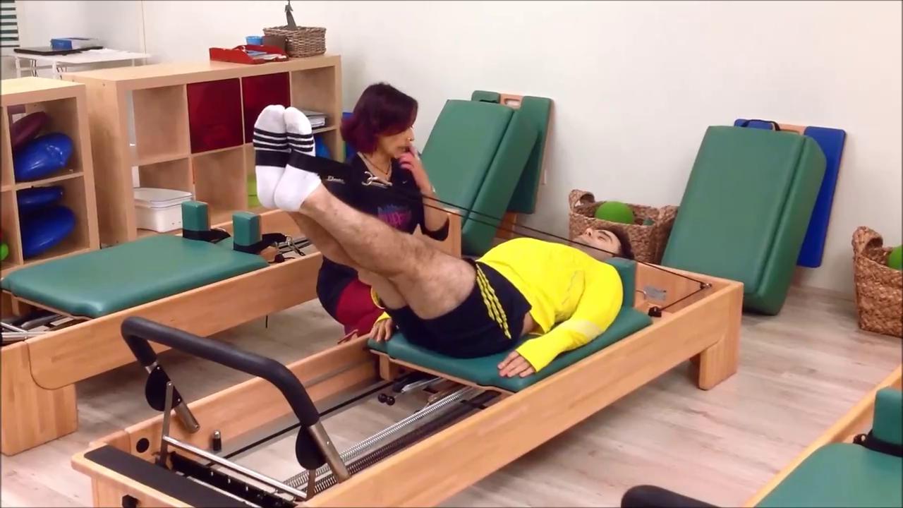 Questa mattina Pilates con Giuseppe Rossi della Fiorentina!