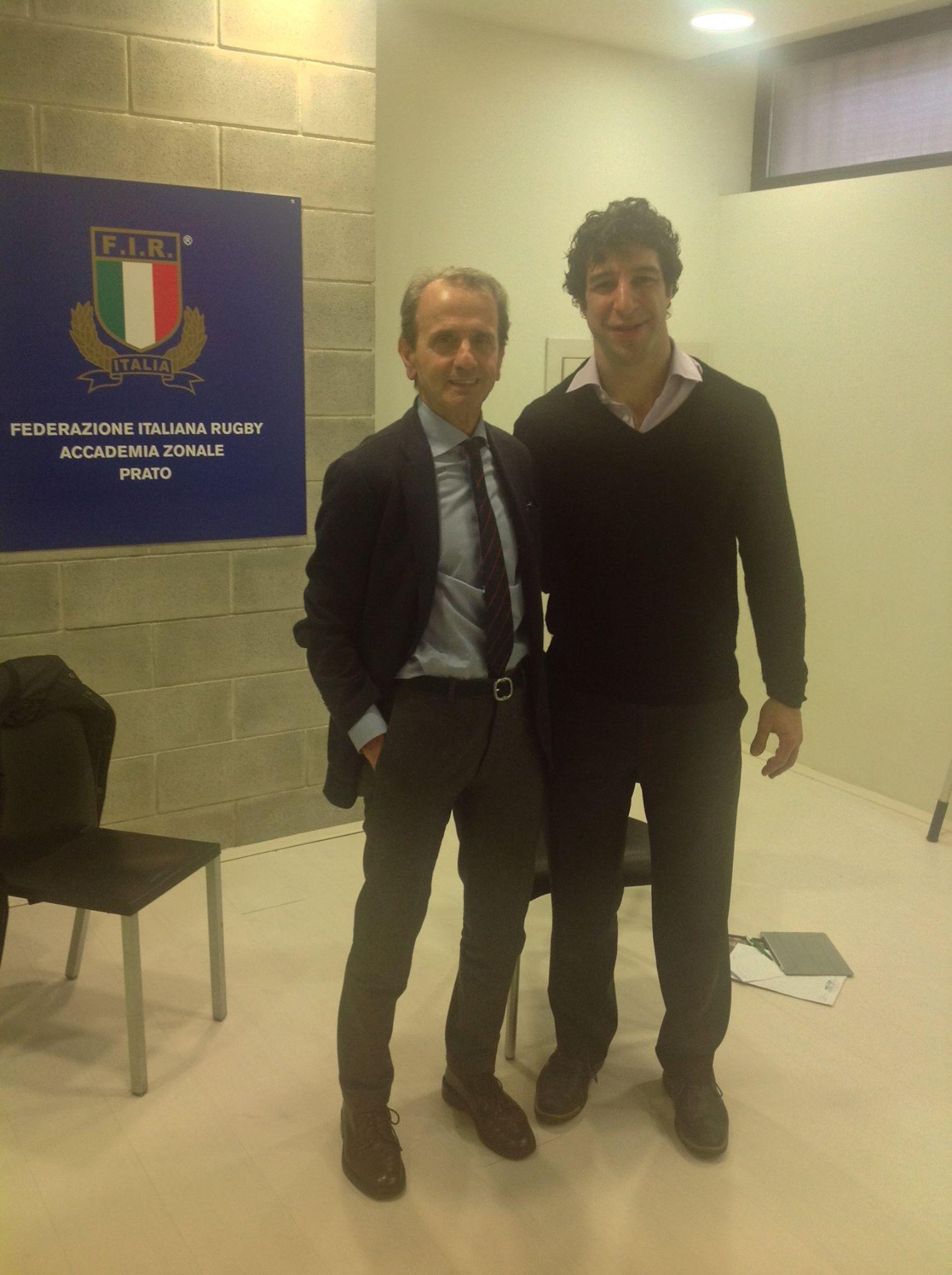 Luke Bongiorno, terapista di Pepito Rossi, al Training Lab Firenze!