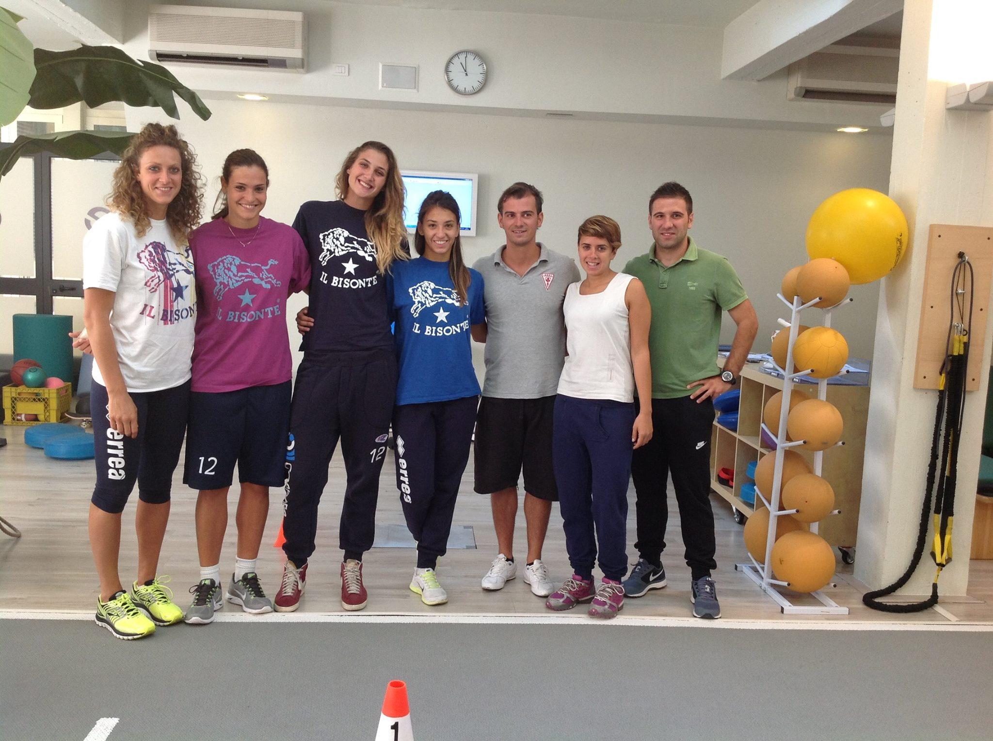 Il Bisonte Azzurra Volley al Training Lab Firenze!
