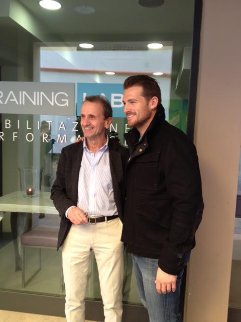 Dan Kennedy degli LA Galaxy al Training Lab!
