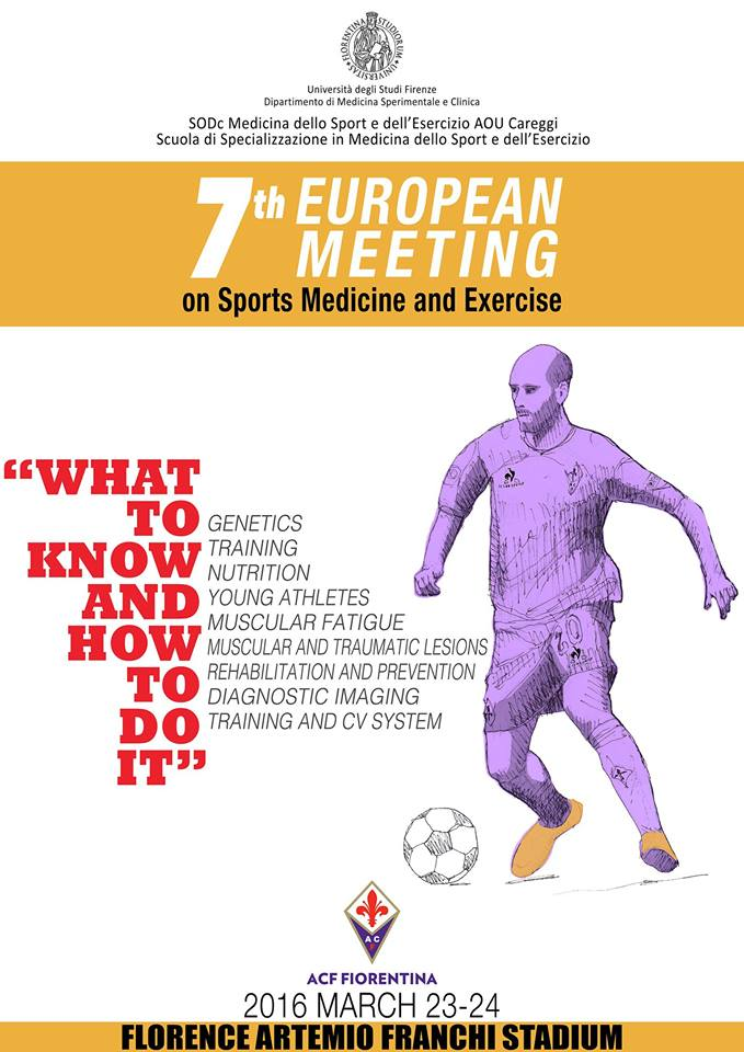 7th EUROPEAN MEETING ON SPORTS MEDICINE AND EXERCISE