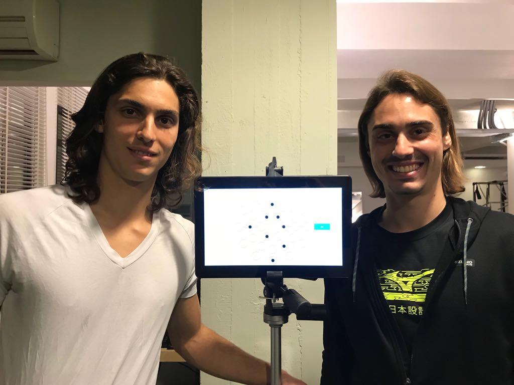 """Adelchi e Augusto Virgili: i nostri campioni al Training Lab per un test di """"Reattività Visiomotoria"""""""