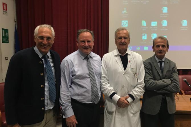 Conferenza del prof. Lephart nell'Aula Magna dell'Università di Firenze