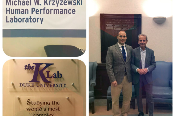 Visita al K Lab della Duke University