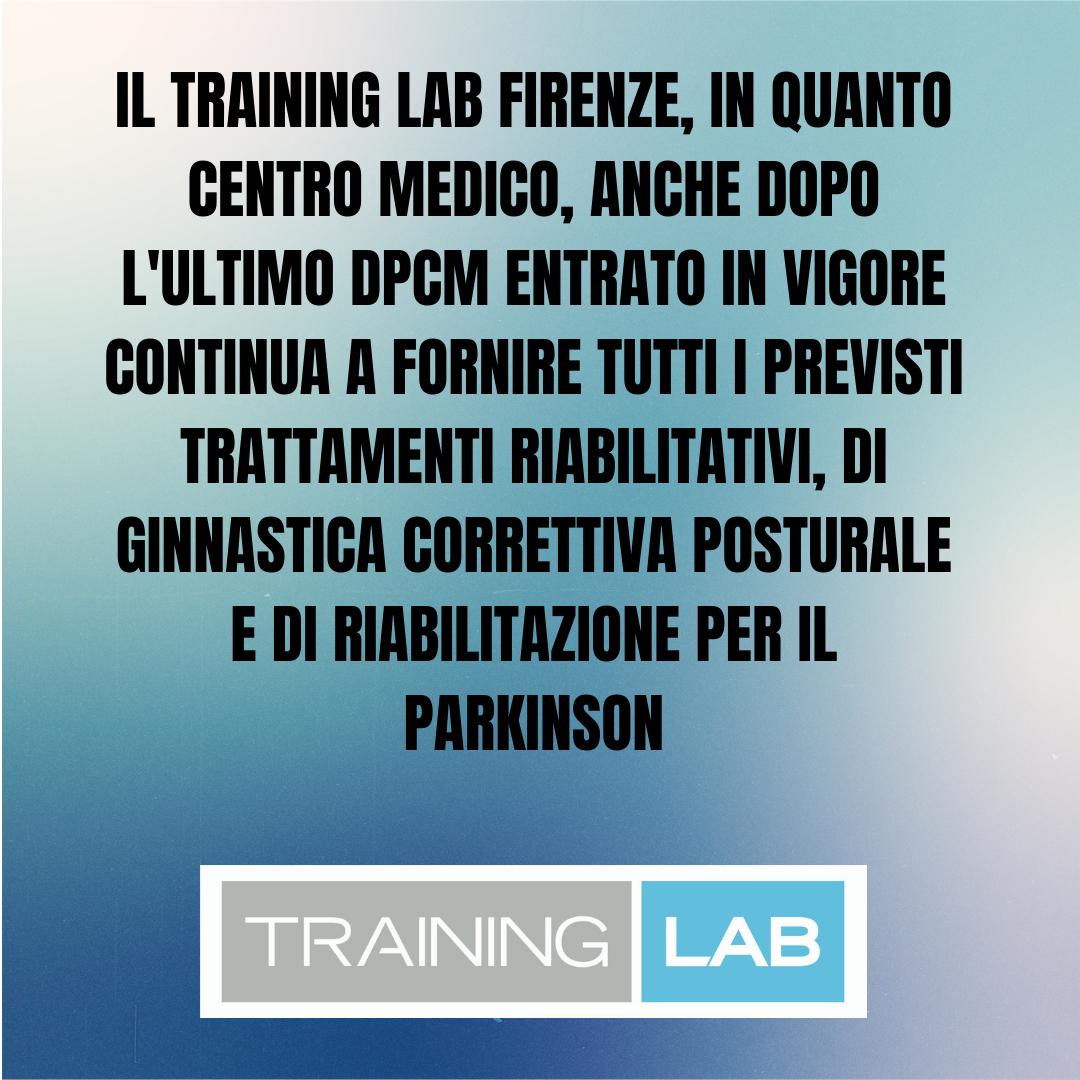 DPCM 25/10/2020 - Training Lab Firenze